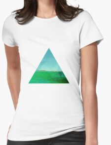 Triangle View Womens Fitted T-Shirt