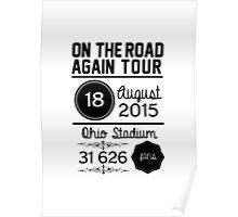 18th August - Ohio Stadium OTRA Poster