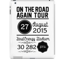 27th August - FirstEnergy Stadium OTRA iPad Case/Skin