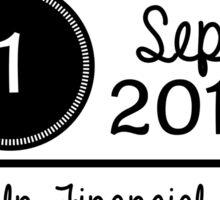 1st september - Lincoln Financial Field OTRA Sticker