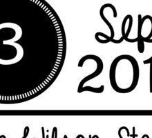 3rd September - Ralph Wilson Stadium OTRA Sticker