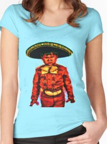 The Angry Mariachi Women's Fitted Scoop T-Shirt