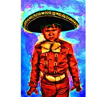 The Angry Mariachi Photographic Print