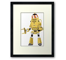 PROTECTRON: CONSTRUCTION Framed Print