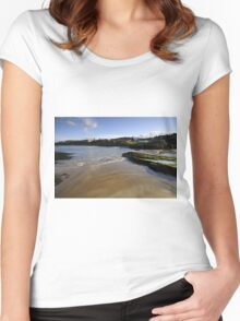 St Andrews Women's Fitted Scoop T-Shirt
