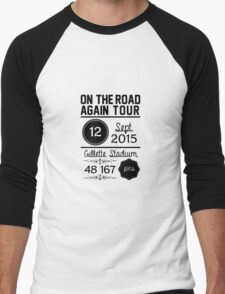 12th September - Gillette Stadium OTRA Men's Baseball ¾ T-Shirt