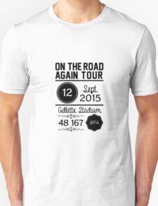 12th September - Gillette Stadium OTRA Unisex T-Shirt