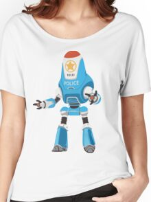 PROTECTRON: POLICE Women's Relaxed Fit T-Shirt