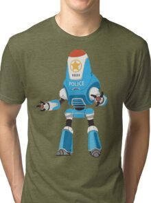 PROTECTRON: POLICE Tri-blend T-Shirt