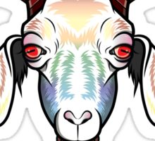 Rainbow Goat Sticker