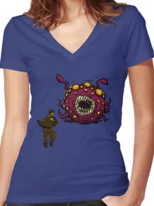 Indiana Jones Rathtar Women's Fitted V-Neck T-Shirt