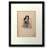 Amazonian Princess Framed Print