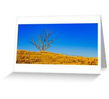 The Dry Country Greeting Card