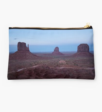Twilight At Monument Valley Studio Pouch