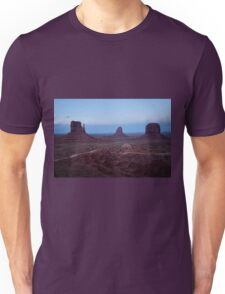 Twilight At Monument Valley Unisex T-Shirt