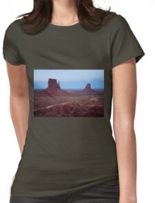 Mittens At Twilight Womens Fitted T-Shirt