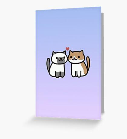 Neko Atsume - Love Greeting Card
