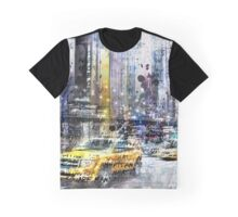 City-Art NYC Collage Graphic T-Shirt