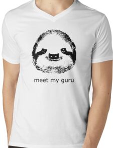 meet my guru Mens V-Neck T-Shirt