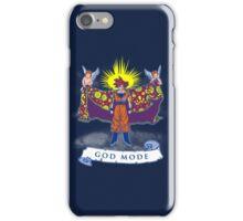 Goku god mode  iPhone Case/Skin