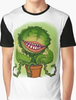 Mean Green Mother From Outer Space Graphic T-Shirt