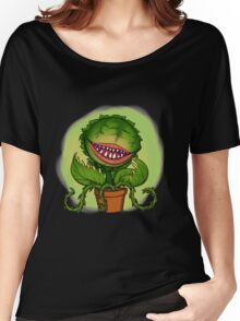 Mean Green Mother From Outer Space Women's Relaxed Fit T-Shirt