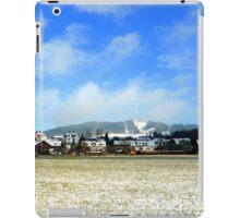 Hohenpeissenberg in the mist iPad Case/Skin