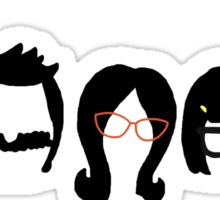 Bobs Burgers Belcher Line Up Sticker