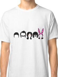 Bobs Burgers Belcher Line Up Classic T-Shirt