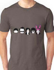 Bobs Burgers Belcher Line Up Unisex T-Shirt