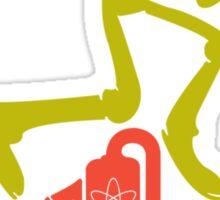 Powerline funny nerd geek geeky Sticker