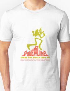 Powerline funny nerd geek geeky T-Shirt