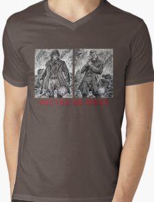 Doctor No More Mens V-Neck T-Shirt
