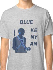 Blue Kenyan (2) Classic T-Shirt