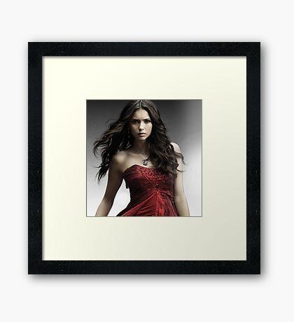 Hot Nina Dobrev  Framed Print
