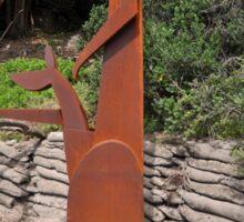 Young Gun,Sculptures By Sea,Australia 2015 Sticker