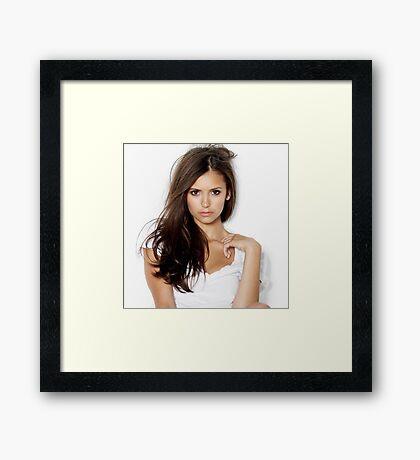 Hot Nina Dobrev 2 Framed Print