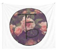 the front bottoms floral logo Wall Tapestry