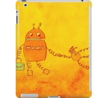 Robomama Robot Mother And Child iPad Case/Skin