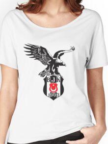 besiktas logo Women's Relaxed Fit T-Shirt