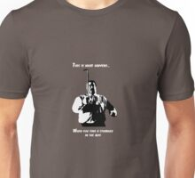 A stranger in the alps (light) Unisex T-Shirt