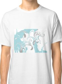 Marble background Classic T-Shirt
