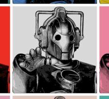 Cybermen Warhol Sticker