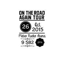 26th october - Metro Radio Arena OTRA Photographic Print
