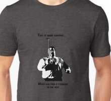 A stranger in the alps (dark) Unisex T-Shirt