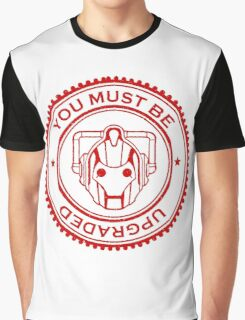 Cybermen Rubber Stamp Graphic T-Shirt