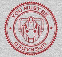 Cybermen Rubber Stamp Kids Tee