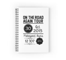 30th October - Motorpoint Arena OTRA Spiral Notebook