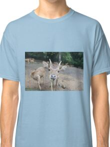 Cute Deer - Eating Vegetables Classic T-Shirt