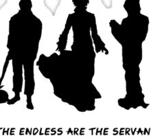 The Endless - Servants of the Living Sticker